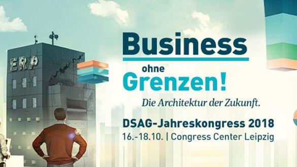DSAG-Jahreskongress 2018: Business ohne Grenzen