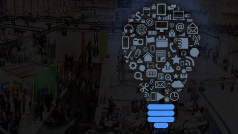 Bild Messe und Symbol für IOT, HONICO auf der E-World