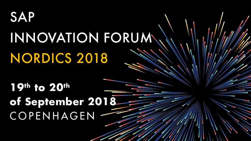 HONICO beim SAP Innovation Forum Nordics in Kopenhagen