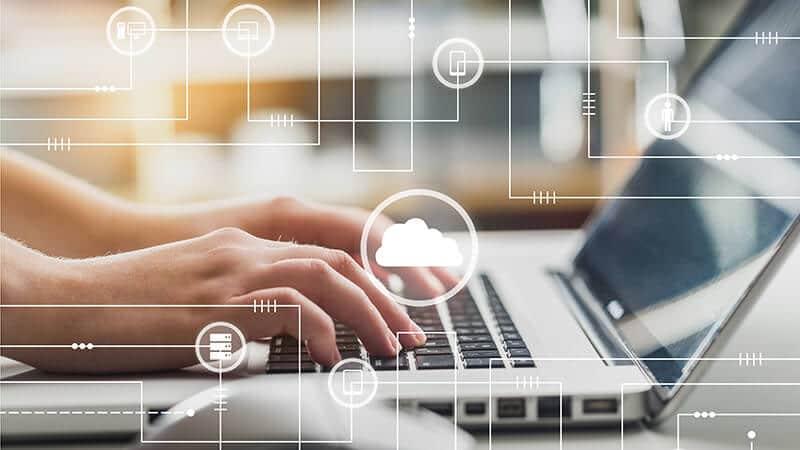 Cloud Netze als Bild für SAP PaaS Partnertreffen